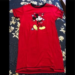 NWOT women's Mickey Mouse gown